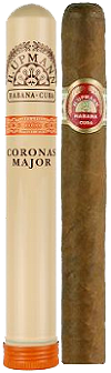 havana Coronas Major Aluminium Tube